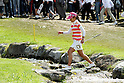 Ai Miyazato (JPN),JULY 24, 2011 - Golf :Ai Miyazato of Japan during the final round of the Evian Masters at the Evian Masters Golf Club in Evian-les-Bains, France. (Photo by Yasuhiro JJ Tanabe/AFLO)