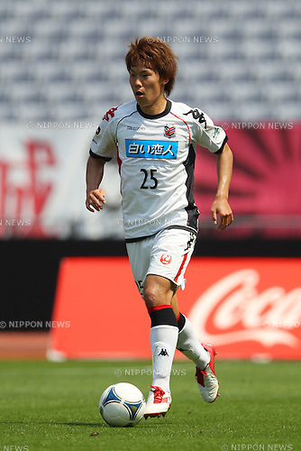 Kazuki Kushibiki (Consadole), .MAY 6, 2012 - Football /Soccer : .2012 J.LEAGUE Division 1 .between Yokohama F Marinos 2-1 Consadole Sapporo .at Nissan Stadium, Kanagawa, Japan. .(Photo by YUTAKA/AFLO SPORT) [1040]