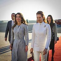 King Abdullah II and Queen Rania of Jordan visit Morocco