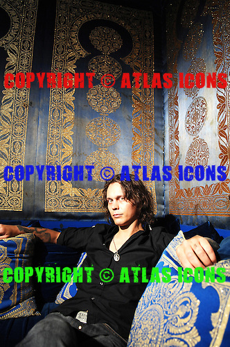 HIM; Ville Valo; Studio Portrait Session .Photo Credit: Eddie Malluk/Atlas Icons.com