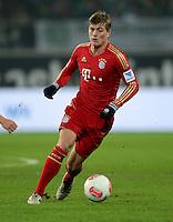 FUSSBALL   1. BUNDESLIGA   SAISON 2012/2013    22. SPIELTAG VfL Wolfsburg - FC Bayern Muenchen                       15.02.2013 Toni Kroos (FC Bayern Muenchen) Einzelaktion am Ball