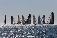 14th October 2011. Extreme Sailing Series 2011 - Act 8. Almeria. Spain.