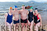 swimmers Mags O'Sullivan, Joe McDonald, Kevin Williams, Bridget Moore, Rose Collins and missing John O'Sullivan and David Smith  are  swimming the channel next year