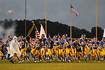 Oxford High takes the field vs. Lafayette High at Bobby Holcomb Field in Oxford, Miss. on Thursday, August 30, 2012. Oxford High won 19-0.