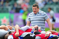 Bath Rugby first team coach Toby Booth. European Rugby Challenge Cup Quarter Final, between Bath Rugby and CA Brive on April 1, 2017 at the Recreation Ground in Bath, England. Photo by: Patrick Khachfe / Onside Images