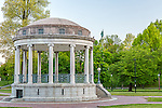 The Parkman Bandstand on Boston Common, Boston, Massachusetts, USA