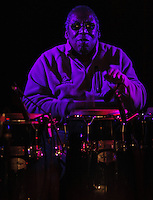 New Orleans musicians honor Professor Longhair (Fess)'s birthday at Tipitinas.