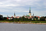 Europe, Estonia, Tallinn. Cityscape of Tallinn as seen from the waterfront.