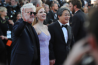Jurors Park Chan-wook, Jessica Chastain and President of the jury Pedro Almodovar at the &laquo;OKJA` screening during The 70th Annual Cannes Film Festival on May 19, 2017 in Cannes, France.<br /> CAP/LAF<br /> &copy;Lafitte/Capital Pictures<br /> Jurors Park Chan-wook, Jessica Chastain and President of the jury Pedro Almodovar at the &acute;OKJA` screening during The 70th Annual Cannes Film Festival on May 19, 2017 in Cannes, France.<br /> CAP/LAF<br /> &copy;Lafitte/Capital Pictures /MediaPunch ***NORTH AND SOUTH AMERICAS, CANADA and MEXICO ONLY***