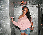 ANTM's Keenyah Hill Attends Vivica A. Fox Hosts Private Celebration for the 31st Birthday of Publicist BJ Coleman and the Launch of www.burgersandbourbon.com Sponsored by Pisco Portón,  at The Marcel Hotel's Polar Lounge, NY 8/25/11