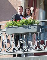 Princess Madeleine & Christopher O'Neill Pre-Royal Wedding Dinner - Sweden