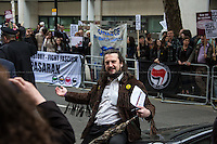 07.05.2014 - Protest outside UKIP Rally in London