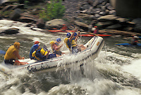 AJ4129, white water rafting, Ocoee River, white water, Tennessee, Appalachian Mountains, White water rafting on the Ocoee River in Cherokee National Forest in the state of Tennessee.