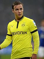 FUSSBALL   1. BUNDESLIGA   SAISON 2012/2013    25. SPIELTAG FC Schalke 04 - Borussia Dortmund                         09.03.2013 Mario Goetze (Borussia Dortmund) ist enttaeuscht
