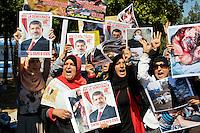 Egiziani manifestano  a sostegno del  deposto presidente  Mursi