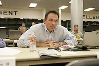 OAKLAND, CA - JUNE 7:  Billy Beane, General Manager of the Oakland Athletics, during the 2005 First-Year Player Draft at McAfee Coliseum on June 4, 2005 in Oakland, California. (Photo by Michael Zagaris /MLB Photos via Getty Images)