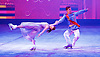 Imperial Ice Stars <br /> Nutcracker on ice <br /> Artistic Director Tony Mercer <br /> Music by Tchaikovsky<br /> at the <br /> Royal Albert Hall, London, Great Britain <br /> 28th December 2015 <br /> rehearsal <br /> <br /> <br /> Marilia Vygalova as Marie<br /> Vladislav Lysoi Nutcracker Prince <br /> <br /> <br /> <br /> International ice dance sensation, The Imperial Ice Stars, return for a third season at the Royal Albert Hall with their production of The Nutcracker on Ice for Christmas 2015, as part of their 10th anniversary world tour. The Nutcracker on Ice will open on Monday 28 December for a strictly limited season of 12 performances.<br /> <br /> <br /> Photograph by Elliott Franks <br /> Image licensed to Elliott Franks Photography Services