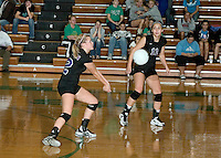 Volleyball vs. Tipton - Sectional 10-21-08