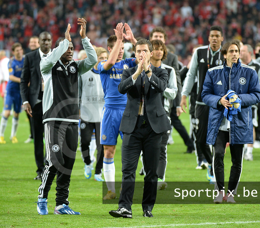 Benfica Lissabon - Chelsea FC : Eden Hazard.foto DAVID CATRY / Nikonpro.be