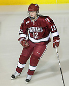 Ashley Wheeler (Harvard - 12) - The Harvard University Crimson defeated the Northeastern University Huskies 4-3 (SO) in the opening round of the Beanpot on Tuesday, February 8, 2011, at Conte Forum in Chestnut Hill, Massachusetts.