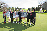 Stanford Golf W, Peg Barnard Invitational Round 2, February 12, 2017