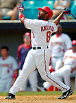11 March 2006: Marlon Anderson, infielder for the Washington Nationals, at bat during a Spring Training game against the Los Angeles Dodgers. The Nationals defeated the Dodgers 2-1 in 10 innings at Space Coast Stadium, in Viera, Florida...Mandatory Photo Credit: Ed Wolfstein.
