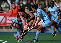 Deanna Ritchie of the Blacksticks during the international hockey match between the Blacksticks Women and India, Rosa Birch Park, Pukekohe, New Zealand. Sunday 14  May 2017. Photo:Simon Watts / www.bwmedia.co.nz
