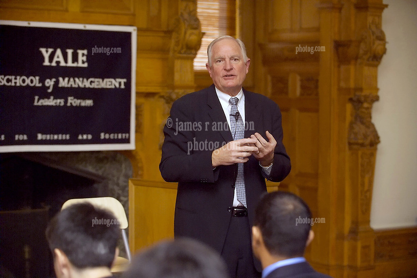 Craig R. Barrett, Former CEO & Chairman of the Board, Intel Corporation, speaking to Students at the Yale University School of Management Leaders Forum on February 22, 2006