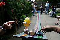 Adult Pinewood Derby. Portland, Oregon.