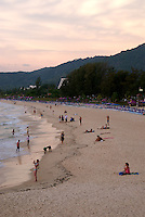Phuket Beach at Sunset