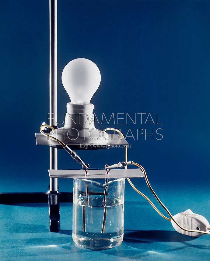 Conductivity Of Water : Chemistry conductivity test fundamental photographs