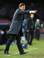 FUSSBALL   CHAMPIONS LEAGUE   SAISON 2011/2012   21.02.2012 SSC Neapel - Chelsea  FC Trainer Andre Villas - Boas (Chelsea  FC)