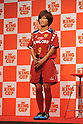 Nahomi Kawasumi (JPN), September 14, 2011 - Football / Soccer : press conference for &quot;King Cup&quot; at Shinagawa Tokyo, Japan. (Photo by Atsushi Tomura/AFLO SPORT) [1035]