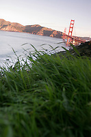 North America, United States of America, California, San Francisco, The Golden Gate Bridge, &copy;Stephen Blake Farrington<br />