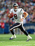 1 November 2009: Houston Texans' quarterback Matt Schaub scrambles for short yardage in the third quarter against the Buffalo Bills at Ralph Wilson Stadium in Orchard Park, New York, United States of America. The Texans defeated the Bills 31-10. Mandatory Credit: Ed Wolfstein Photo