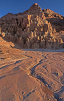 731950020 panaca formations at sunrise in cathedral gorge state park nevada