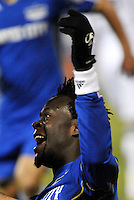 Kei Kamara celebrates goal...Kansas City Wizards defeated D.C Utd 4-0 in their home opener at Community America Ballpark, Kansas City, Kansas.