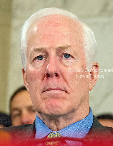 United States Senator John Cornyn (Republican of Texas) at the US Senate Judiciary Committee confirmation hearing on the nomination of US Senator Jeff Sessions (Republican of Alabama) to be Attorney General of the United States on Capitol Hill in Washington, DC on Tuesday, January 10, 2017.<br /> Credit: Ron Sachs / CNP