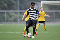 Football - National Age Group Tournament U15 Northern v Capital at Petone Memorial Park, Petone, Lower Hutt, New Zealand on Saturday 12 December 2015.<br /> Photo by Masanori Udagawa. <br /> www.photowellington.photoshelter.com.