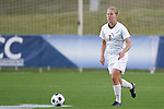 05 November 2008: Florida State's Katrin Schmidt. Virginia Tech and Florida State University played to a 0-0 tie after two overtimes at Koka Booth Stadium at WakeMed Soccer Park in Cary, NC in a women's ACC tournament quarterfinal game.  Virginia Tech advanced to the semifinal round in penalty kicks, 4-2.