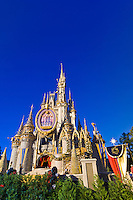 Cinderella Castle, Walt Disney World, Orlando, Florida USA