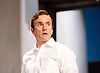 Sunset at the Villa Thalia <br /> by Alexi Kaye Campbell<br /> at Dorfman Theatre, National Theatre, Southbank, London, Great Britain <br /> <br /> 31st May 2016 <br /> press photocall <br />  <br /> <br /> directed by Simon Godwin<br />  <br /> <br /> Ben Miles as Harvey <br /> <br /> <br />  <br /> <br /> Photograph by Elliott Franks <br /> Image licensed to Elliott Franks Photography Services