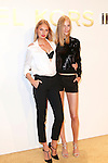 Victoria's Secret Model Romee Strijd and Model Vanessa Axente Attend The Michael Kors Gold Collection Fragrance Launch Held at the Standard Hotel NYC