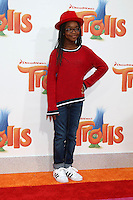 WESTWOOD, CA - OCTOBER 23: Marsai Martin at the premiere Of 20th Century Fox's 'Trolls' at Regency Village Theatre on October 23, 2016 in Westwood, California. Credit: David Edwards/MediaPunch