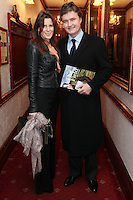 """NO REPRO FEE. 17/1/2010. The Field opening night. Aisling and Garry Purcell are pictured at the Olympia Theatre for the opening night of John B Keanes 'The Field"""" Picture James Horan/Collins"""