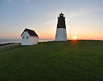 Point Judith Lighthouse, Point Judith Rhode Island<br />
