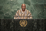 Address by His Excellency John Dramani Mahama, President of the Republic of Ghana <br /> <br /> <br /> General Assembly Seventy-first session 10th plenary meeting<br /> General Debate