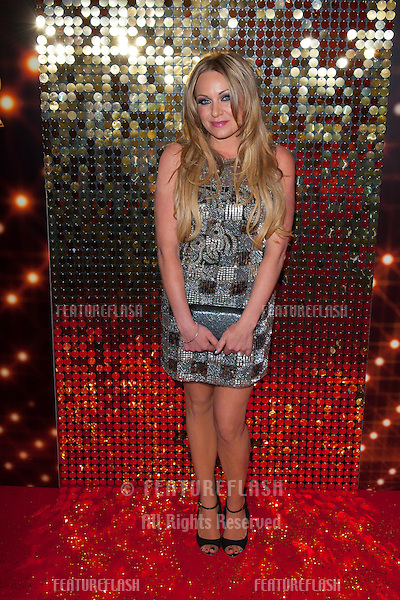 Rita Simons arriving for the 2014 British Soap Awards, at the Hackney Empire, London. 24/05/2014 Picture by: Dave Norton / Featureflash