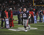 Ole Miss offensive lineman Zack Brent (61) on Senior Day at Vaught-Hemingway Stadium in Oxford, Miss. on Saturday, November 27, 2010.