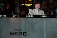 Caffe Nero, Piccadilly, Mayfair, London, Great Britain, UK